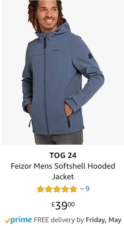 tog24 softshell hooded